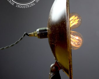 Vintage Two Bulb Wall & Table Lamp