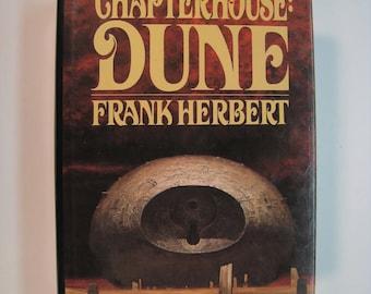 Chapterhouse Dune, Frank Herbert, 1st Edition/1st Printing, Very Good/Very Good 1985 Hardcover/Dust Jacket