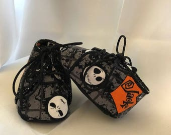 """Nightmare Before Christmas Baby Shoes """"Jack"""""""