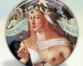 Lucrezia Borgia Pocket Mirror
