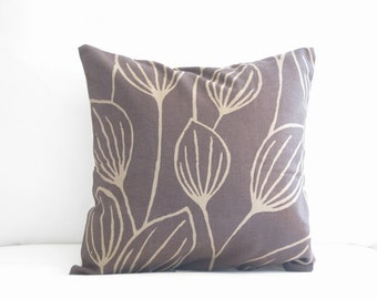 toss pillows, 14 in couch pillows, 16 in accent pillows, brown pillows, pillow covers, floral pillows, leaf jungle pillows, neutral pillows