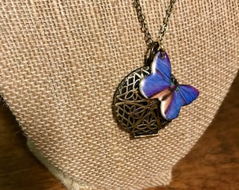 High Flyer Locket Diffuser Necklace