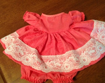 """Handmade 15"""" Doll Clothes, 15 inch doll clothes, 15"""" doll dress,  15"""" doll  outfit,"""