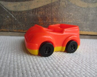 Vintage Kenner Tree Tots Tree House Red Top Family Car
