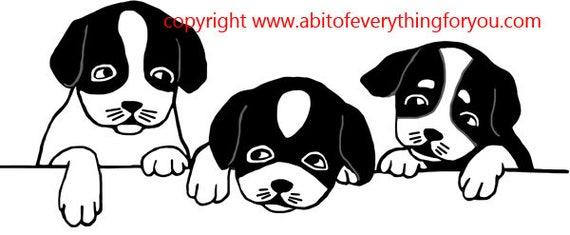 puppies puppy dog clipart png printable art download digital image graphics cartoon animals digital stamp