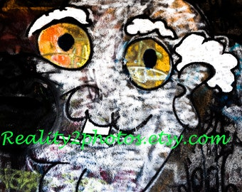 Graffiti Art Digital Photo / Wall Art