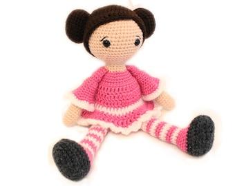 Crochet PATTERN, Amigurumi Doll, Crochet Doll, Doll, Amigurumi Crochet Doll, Toy, Baby shower.