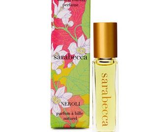 Sarabecca Neroli Natural Perfume Roll-On 7.5 ml