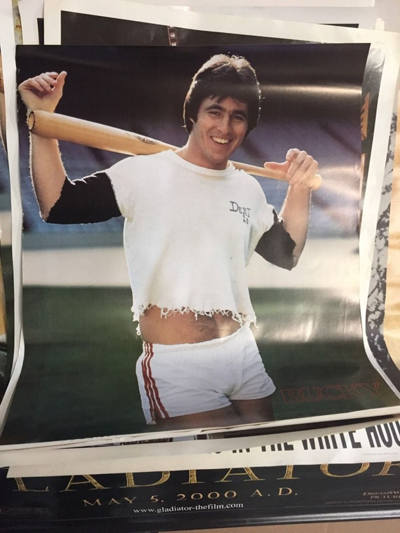 new york yankees vintage bucky dent poster classic circus