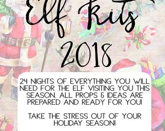2018 elf kit, elf props, elf ideas,