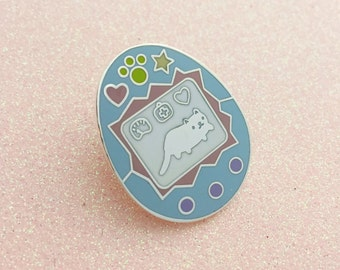 Cat Virtual Pet Pin - Enamel Pin - I like Cats - Cat pin - Cat lapel pin - Virtual Pet - 90s - Hand Over Your Fairy Cakes - Fairy Cakes