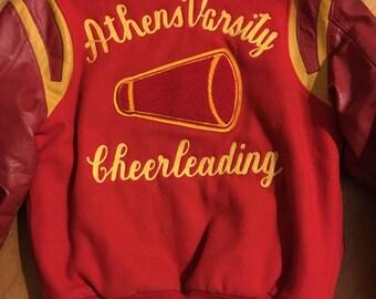 Vintage varsity cheerleading Jacket