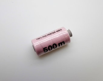 500 polyester sewing thread m rose