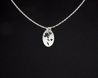 Faroe Islands Necklace - Faroe Islands Jewelry - Faroe Islands Gift