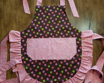 Women's apron, Country Style Apron,  Kitchen Apron, Baker's Apron