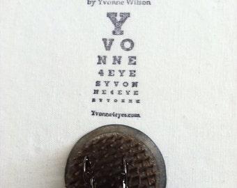 Eye Chart Earrings.The Water Stain.Eye Chart.Wearable Eye Chart.Vision.Site.Optometrist.Gift Under 20.by Yvonne4eyes