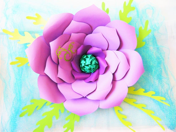 Diy giant paper flower templates large paper flowers paper flower diy giant paper flower templates large paper flowers paper flower kit svg giant flower cut files paper flower tutorial from catchingcolorflies on etsy mightylinksfo
