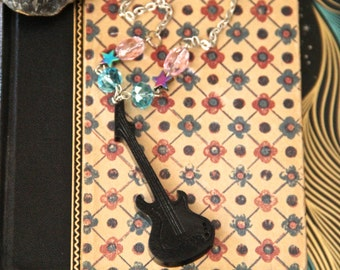 Rock Star Guitar Necklace