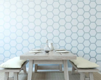 Honeycomb Wall Stencil Reusable