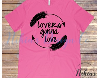 Lovers gonna love, Feather Tee
