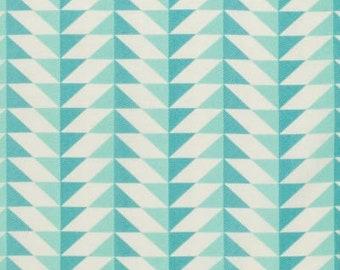 54089- Joel Dewberry Modernist collection Arrowhead in agean color - 1/2  yard