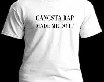 GANGSTER RAP MADE