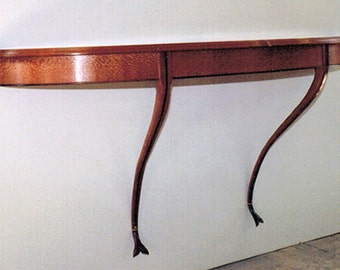 Side Table: Demi Lun