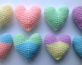 Heart Crochet Pattern, PDF Instant Download, Amigurumi Love Heart Tutorial