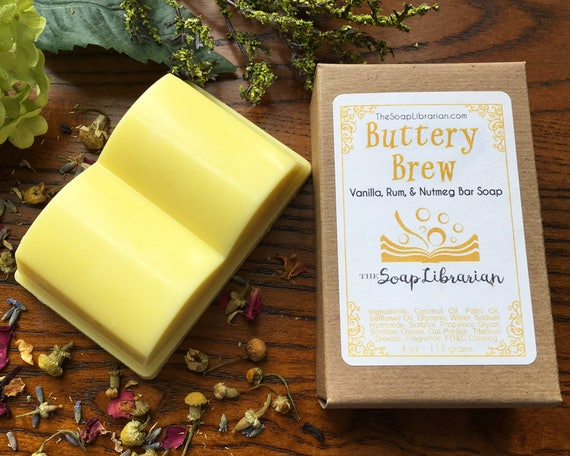 Buttery Brew Bar Soap