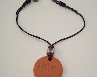 Air Freshener for Cars - Clay Diffuser - Natural Terra Cotta Car Aromatherapy Charm with a Magnetic Clasp - with Essential Oil or Without