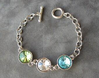 Mother's Birthstone Bracelet, Jewelry for Mom, Mothers Birthstone Jewelry, Grandmother's Bracelet, Mom Jewelry, Mother's Day Jewelry Gift