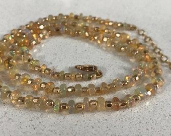 Opal Handmade Necklace