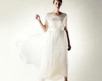 Celtic Wedding dress, Plus size wedding dress, Pagan wedding dress, Casual wedding dress, Alternative wedding dress, Simple wedding dress