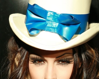 Alice Rubber Top Hat