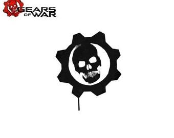 Gears of war etsy gears of war logo vinyl decal voltagebd Choice Image