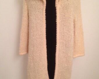 Vintage Mohair Knit Coat