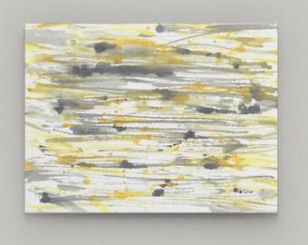 "Yellow Grey Wall Art, Canvas Wall art, Home Decor, Wall Decor 16""x20"" 20""x30"" 30""x40"""