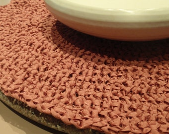 Circular Crochet Table Top Runner