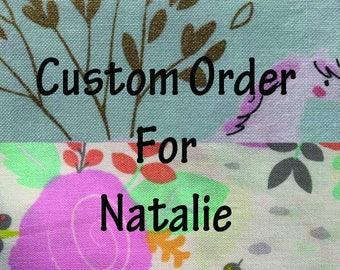 Custom Order for Natalie Insulated 500ML Infinity Pump Bag Cover-Insulated Bag-Feeding-Tubie-GTube