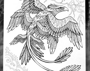 fantastic beasts coloring pages free | Printable coloring | Etsy