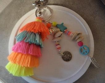 Seashell Keyring or bag charm