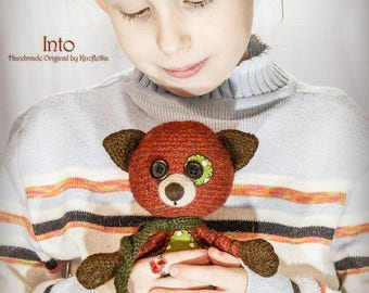 Into - Original Handmade Teddy/Fox/Toy/Collectable/Gift/Charm