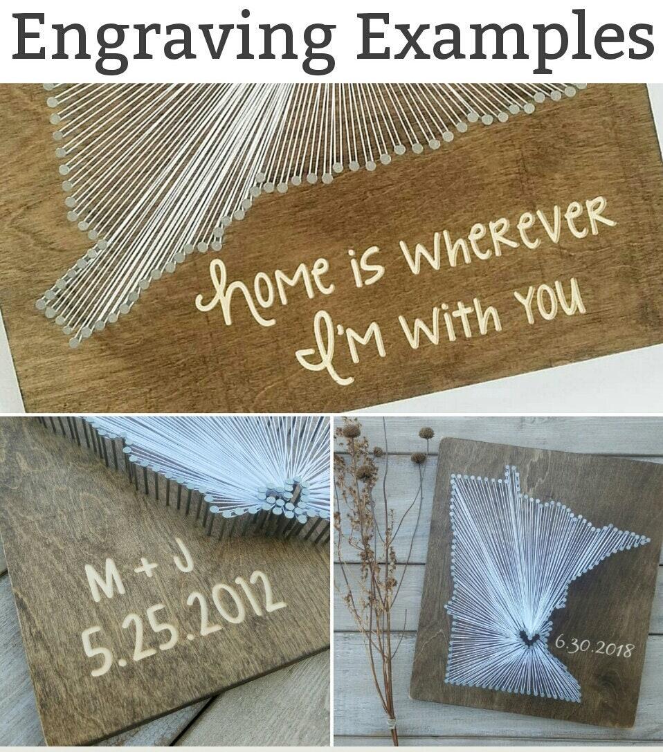 Diy michigan string art kit state string art kit michigan nail art 2599 freerunsca Images