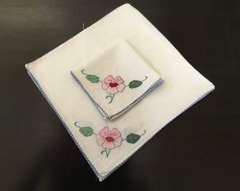 Vintage Napkins / Embroidery and Appliqué