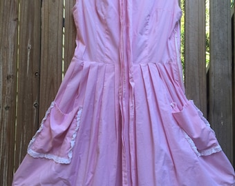 Vintage 50's cotton day dress