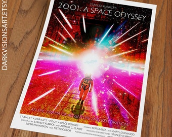 2001 A Space Odyssey Poster Print