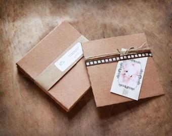 Recycled Kraft CD Sleeves- Set of 50  | wedding cd sleeve, kraft envelope, cd cover, wedding songs favor, photography packaging