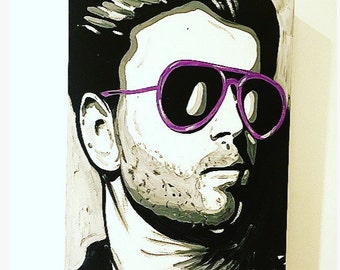 George Michael Painting