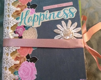 Happiness Altered Book Journal