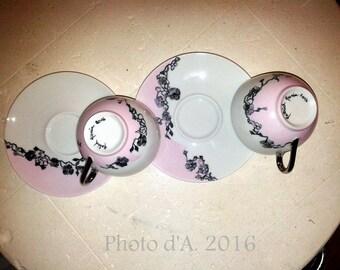 """""""So girly"""" coffee mug (pair)"""